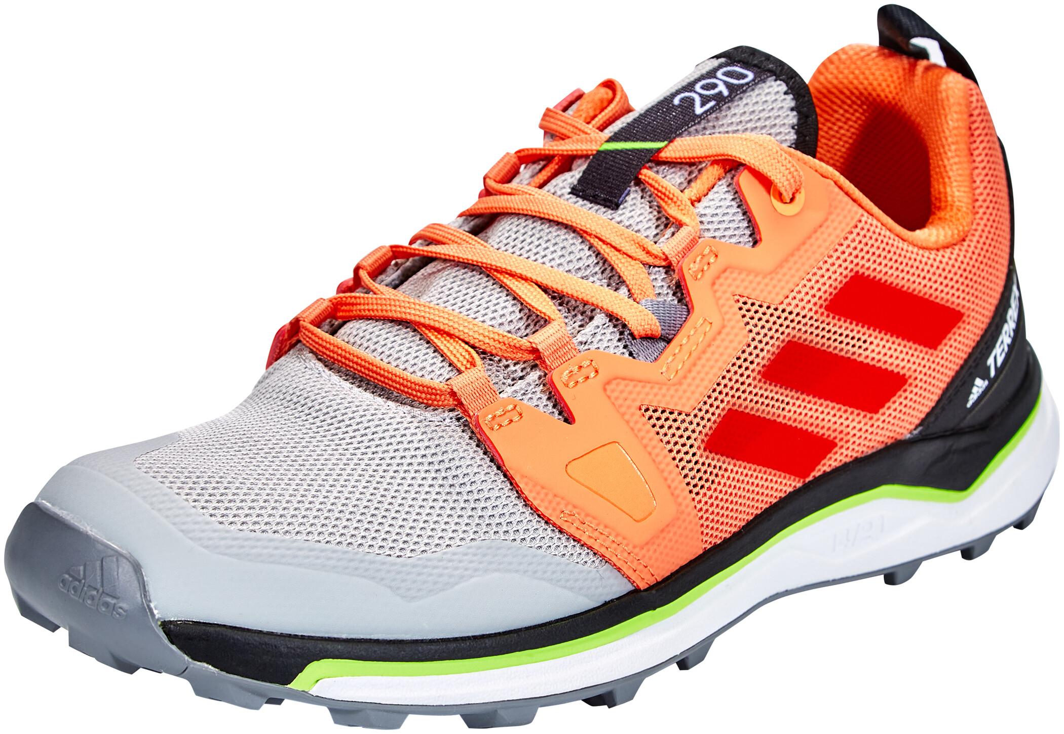 adidas TERREX Agravic Trail Running Schuhe Damen grey twoglory amberamber tint