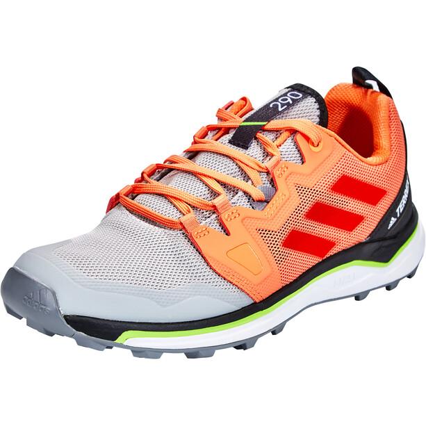 adidas TERREX Agravic Trail Running Schuhe Damen grey two/glory amber/amber tint