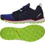 adidas TERREX Agravic Trail Running Schuhe Herren glory blue/core black/signal green