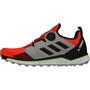 adidas TERREX Agravic Boa Trail Running Schuhe Herren solar red/core black/grey two