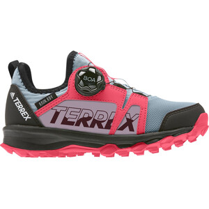 adidas TERREX Agravic Boa Rain.RDY Wanderschuhe Kinder ash grey/footwear white/shock red ash grey/footwear white/shock red