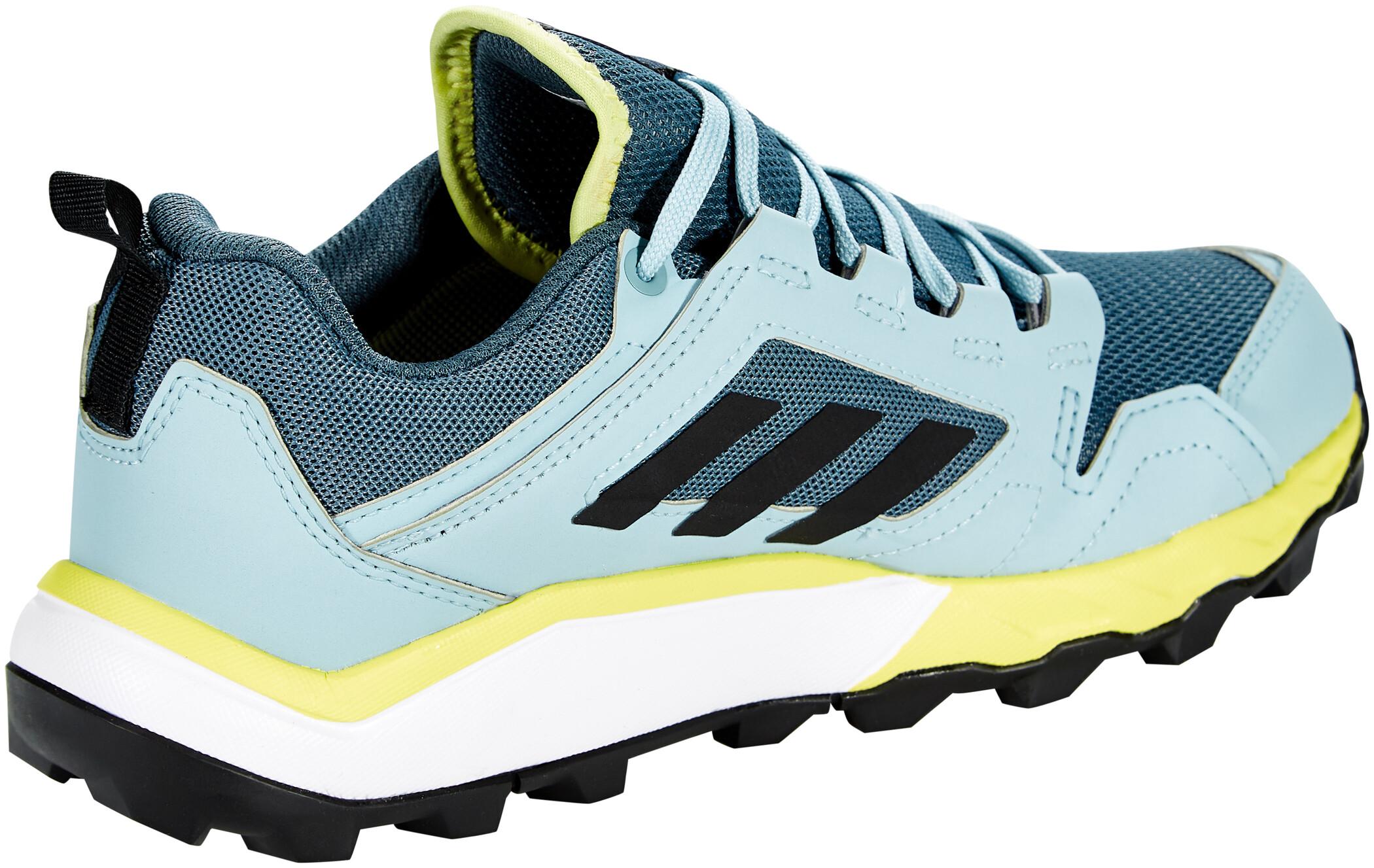 adidas TERREX Agravic TR Gore Tex Trail Running Schuhe Damen legacy bluecore blackyellow tint