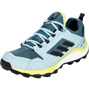 adidas TERREX Agravic TR Gore-Tex Trail Running Schuhe Damen legacy blue/core black/yellow tint legacy blue/core black/yellow tint