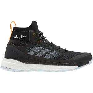 adidas TERREX Free Hiker Parley Wanderschuhe Damen core black/footwear white/real gold core black/footwear white/real gold