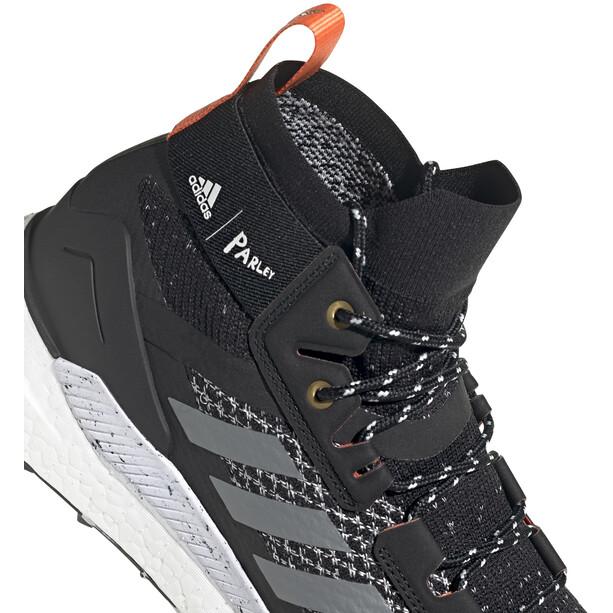 adidas TERREX Free Hiker Parley Vaelluskengät Miehet, core black/grey three/blue spirit