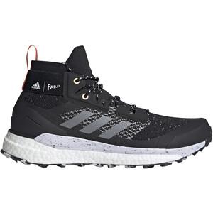 adidas TERREX Free Hiker Parley Vaelluskengät Miehet, core black/grey three/blue spirit core black/grey three/blue spirit