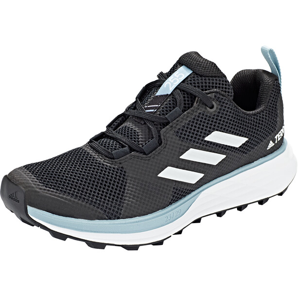 adidas TERREX Two Trail Running Schuhe Damen core black/footwear white/ash grey