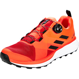 adidas TERREX Two Boa Trail Running Schuhe Herren scarlet/core black/solar red scarlet/core black/solar red