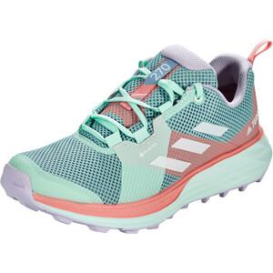 adidas TERREX Two Gore-Tex Trail Running Schuhe Damen ash grey/footwear white/glory pink ash grey/footwear white/glory pink