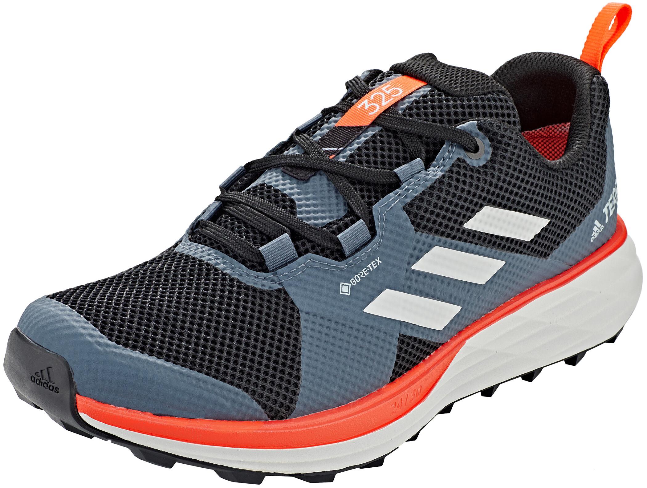 adidas TERREX Two Gore Tex Trail Running Schuhe Herren core blackgrey twosolar red
