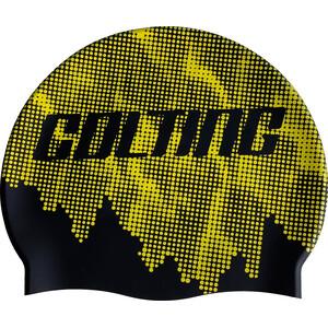 Colting Wetsuits SC02 Badekappe gelb/schwarz gelb/schwarz