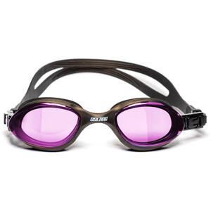 Colting Wetsuits Open Water Okulary pływackie, szary/różowy szary/różowy