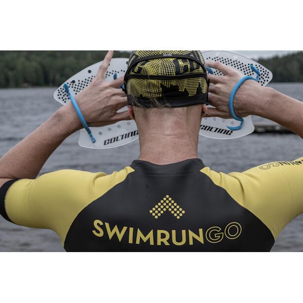 Colting Wetsuits Swimrun Go Wetsuit Damen black/yellow