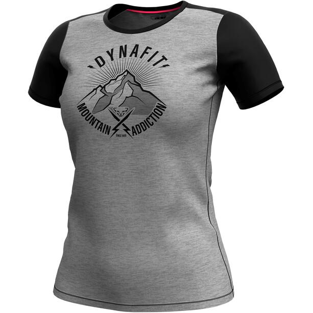 Dynafit Transalper Light Kurzarm T-Shirt Damen black out