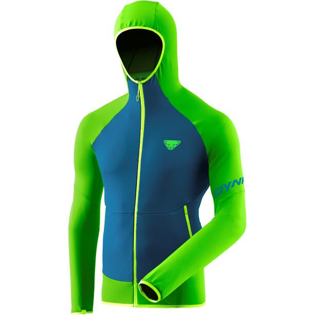 Dynafit Transalper Light Polartec Hoodie Herren blau/grün