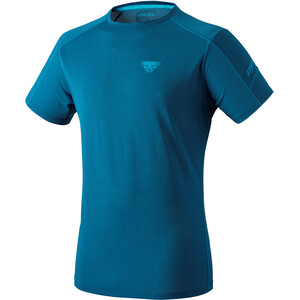 Dynafit Transalper Kurzarm T-Shirt Damen poseidon melange poseidon melange