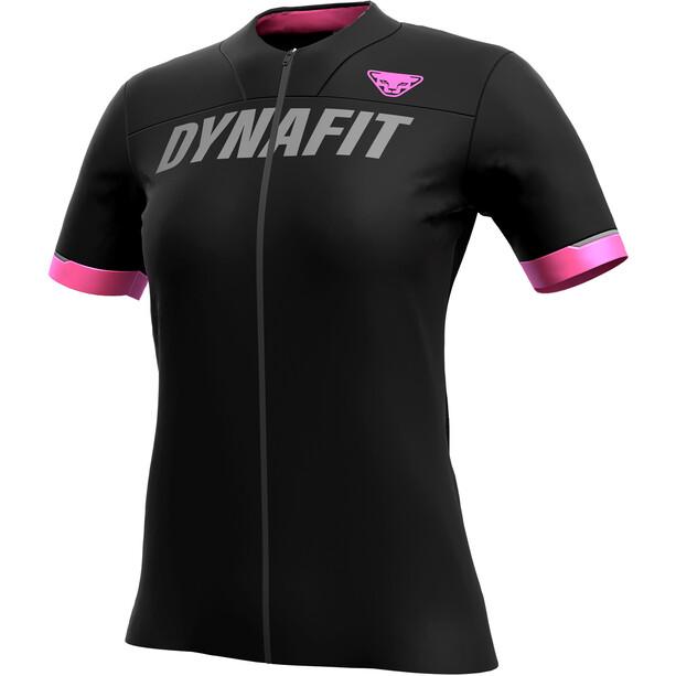 Dynafit Ride Full-Zip Kurzarmshirt Damen black out