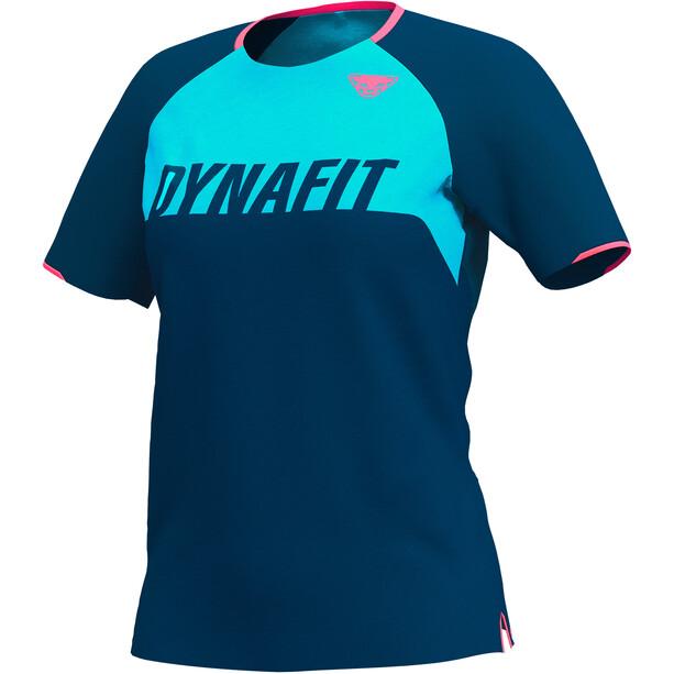 Dynafit Ride T-shirt Femme, bleu/turquoise