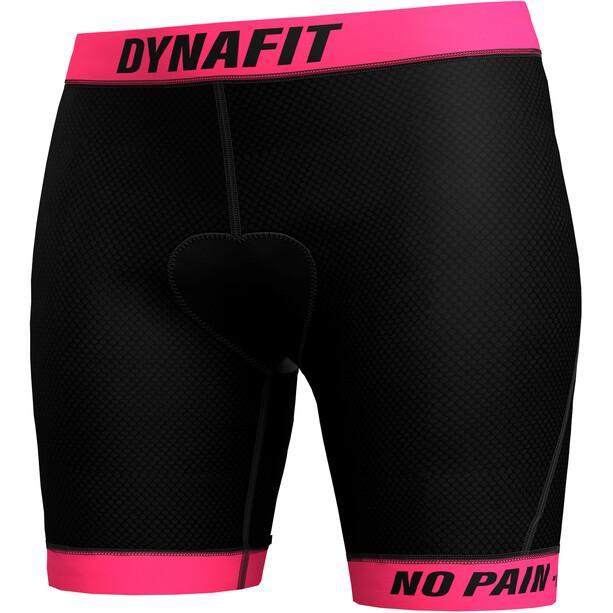 Dynafit Ride Sous-short rembourré Femme, noir/rose