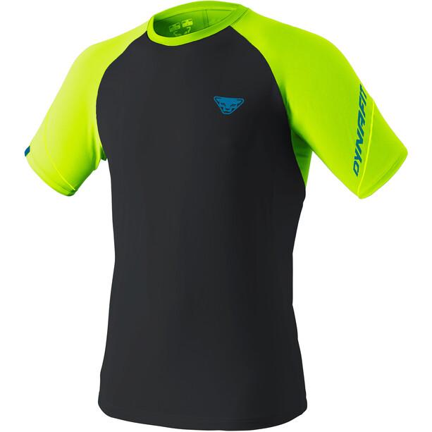 Dynafit Alpine Pro Kurzarm T-Shirt Herren fluo yellow/black