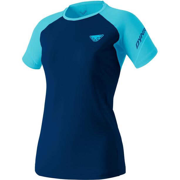 Dynafit Alpine Pro SS Tee Women blå/turkos