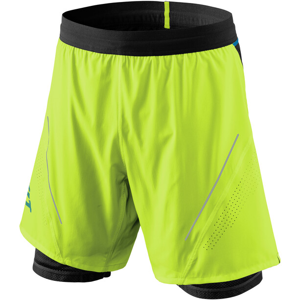 Dynafit Alpine Pro 2in1 Shorts Herren fluo yellow