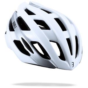 BBB Hawk Helmet glossy white glossy white
