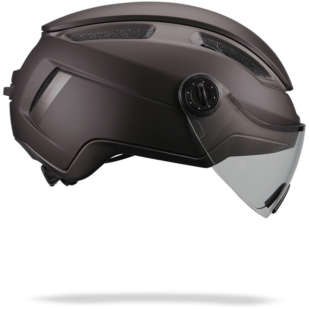 BBB Indra FaceShield Helm schwarz