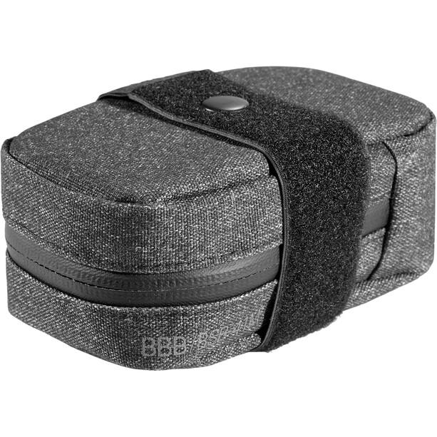 BBB Compacked Satteltasche M schwarz/grau