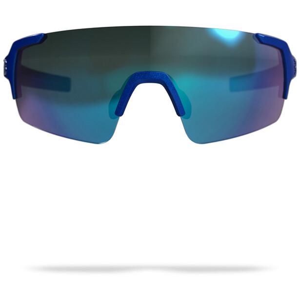 BBB FullView Lunettes de sport, glossy cobalt blue/smoke