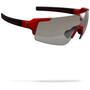 glossy metallic red/photocromatic