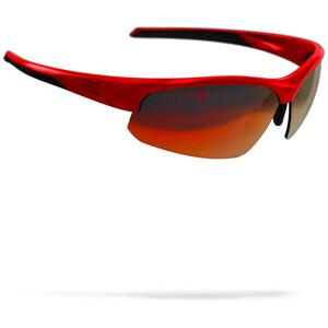 BBB Impress Sportbrille rot/schwarz rot/schwarz
