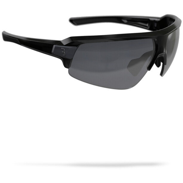 BBB Impulse Lunettes de sport, glossy black/smoke