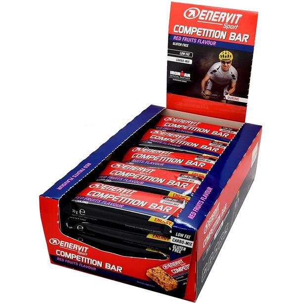 Enervit Sport Competition Bar Box 25x30g Rote Früchte