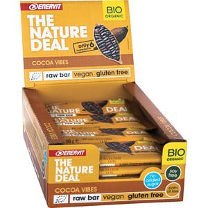 Enervit Nature Deal RawBar Box 20 x 30g Kakao Vibes