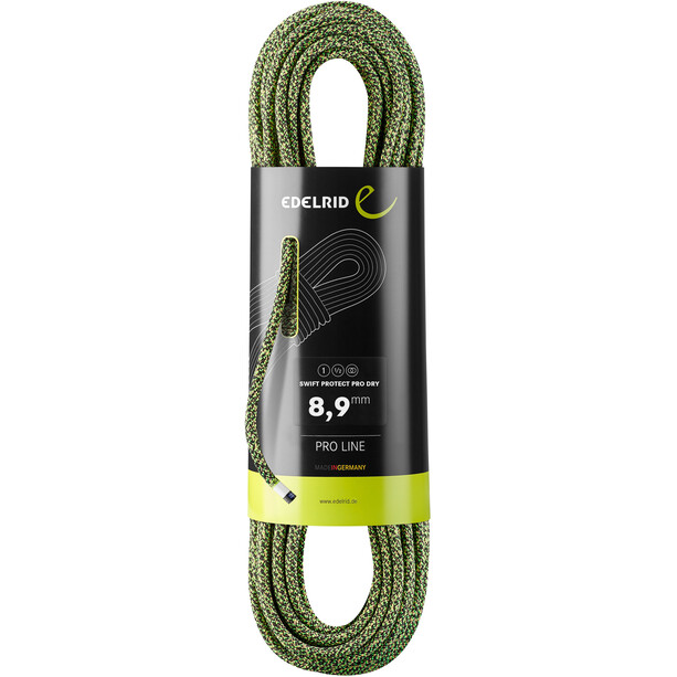 Edelrid Swift Protect Pro Dry Seil 8,9mm x 50m night green