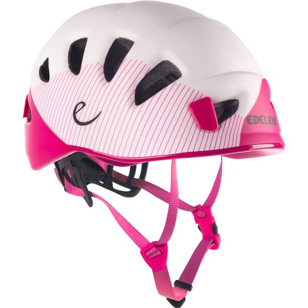 Edelrid Shield II Helm pink/weiß