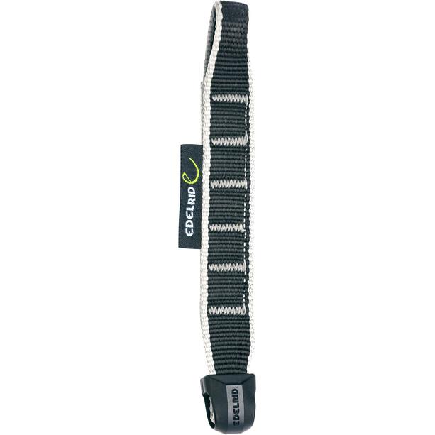 Edelrid Nylon Quickd.Slings Schlinge 15/22mm 18cm schwarz/weiß