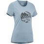 Edelrid Highball IV T-Shirt Damen stone blue