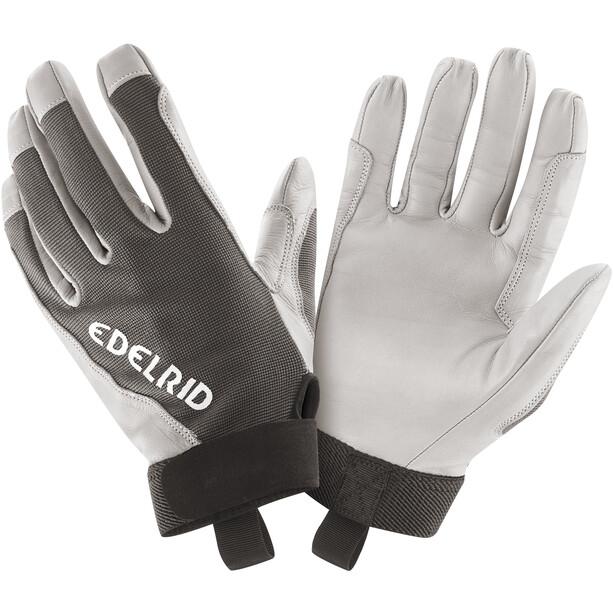 Edelrid Skinny II Handschuhe weiß/schwarz