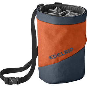 Edelrid Splitter Twist Chalk Bag safran safran