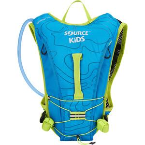 SOURCE Spinner Hydrationspakke 1,5l Børn, blå/grøn blå/grøn