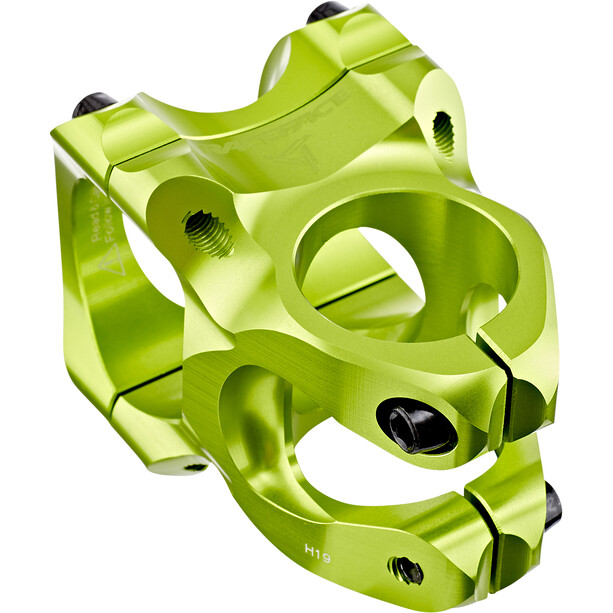 Race Face Turbine R Potence à angle ajustable Ø35mm, green