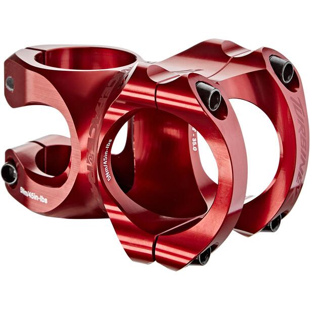 Race Face Turbine R Potence à angle ajustable Ø35mm, red