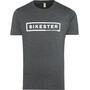 Bikester Logo Shirt Herre melange black