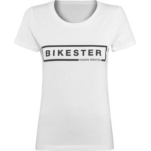Bikester Logo Shirt Dames, wit wit