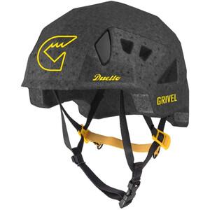 Grivel Duetto Helm schwarz schwarz