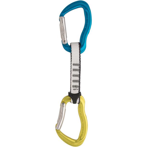 AustriAlpin Rockit Quickdraw Set 11cm blue/yellow
