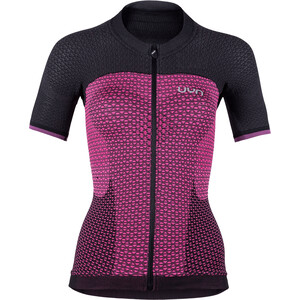 UYN Biking Alpha OW Kortärmad Tröja Dam pink/svart pink/svart