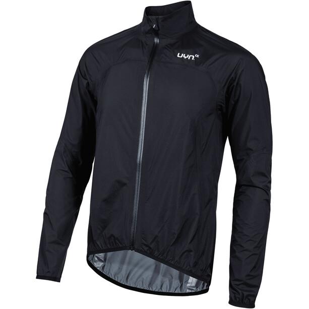 UYN Biking Alpha OW Verstaubare Waterproof Jacke Herren black/silver